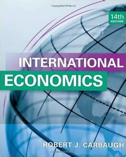 solution manual for international economics 14th edition