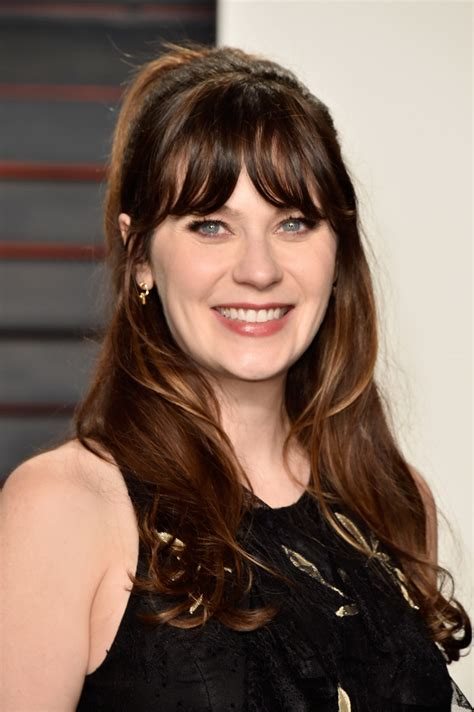 zooey deschanel half up half down half up half down