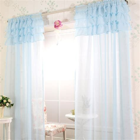 sheer ruffled curtains ruffle curtain