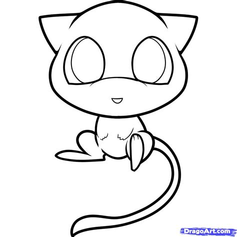 how to draw chibi mew mew step by step chibis draw