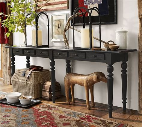 Pottery Barn Entry Table by Tivoli Console Table Pottery Barn