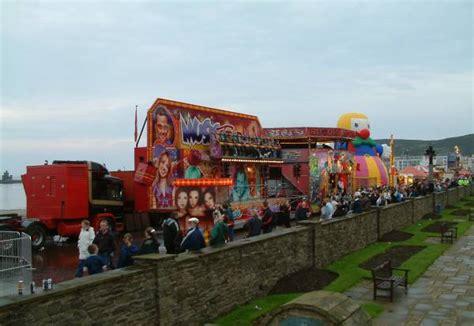 isle of man guide tt funfair on douglas promenade isle of man guide tt festival fun fair along douglas
