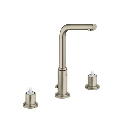 grohe 20384en1 atrio widespread bathroom faucet in brushed