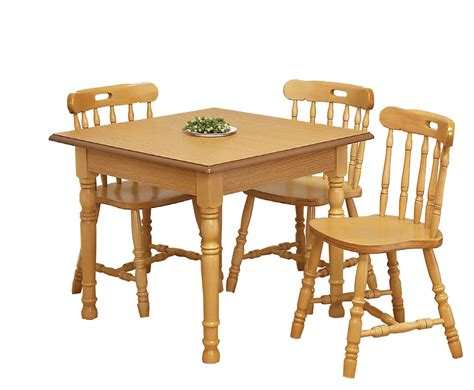 Kitchen Table And Chairs by Sutton Oak Square Kitchen Table And Chairs