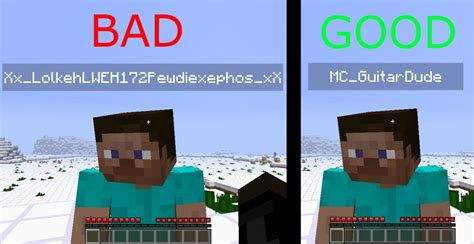 usernames for how to think of a username minecraft