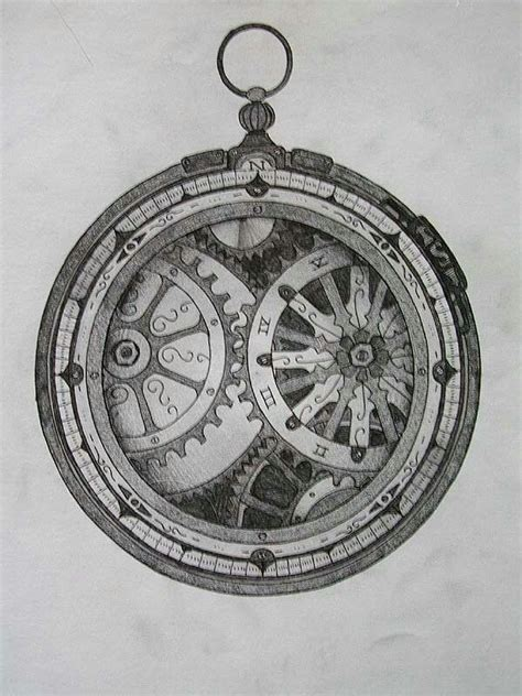 compass tattoo with gears awesome clock compass tattoo art drawings flash