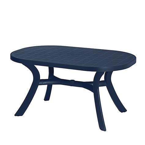 Gartentisch Kunststoff Blau gartentisch kansas kunststoff blau best freizeitm 246 bel