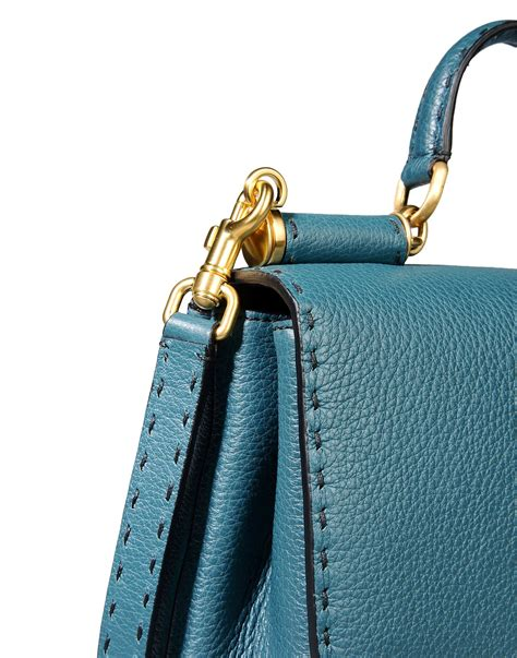 Dolce And Gabbana Leather Convertible Bag by Dolce Gabbana Medium Leather Bag In Green Jade Lyst