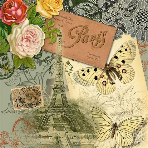 mary hubley s power of paintings antique art blog pin vintage paris france postcards ferris wheel by