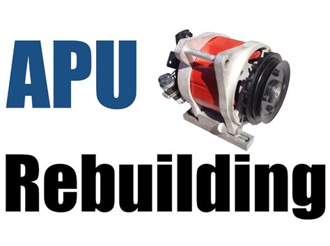 carrier comfort pro apu apu auxiliary power unit rebuilding youtube