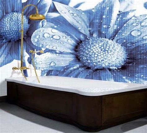 Mosaic Tile Designs Bathroom Mosaic Tiles And Modern Wall Tile Designs In Patchwork