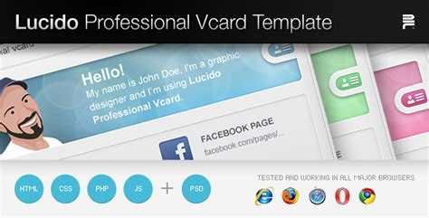 demdous mobile vcard template by thememarket themeforest lucido professiona vcard template by aditivadesign