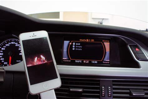 Audi Bluetooth (Handsfree) / eftermontering Audi, A1, A2, A3, A4, A5, A6, A7, A8, Q3, Q5, Q7, R8