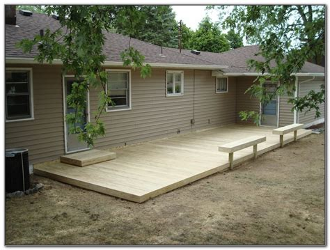 Ground Level Deck Pictures Ideas Decks Home Decorating Deck Patio Design Pictures