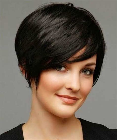 10 short haircuts for straight thick short