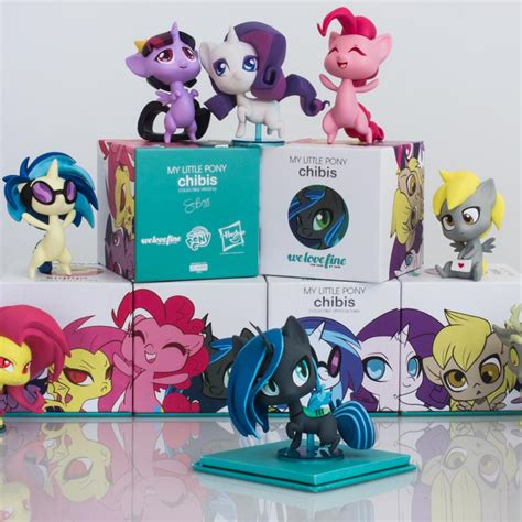 my pony fan for fans by fans my pony mlp chibi vinyl series 1