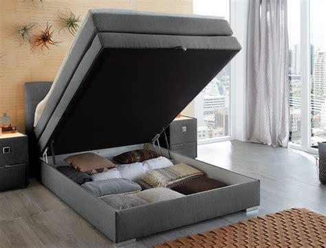 boxspringbett mit nachttisch boxspringbett amalina 140x200 braun nachttisch mit
