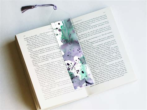 Handmade Personalized - personalized bookmark unique bookmarks bookmarks custom
