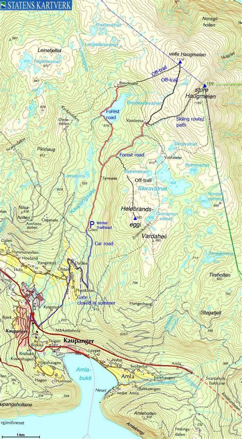 len luster mountains route descriptions store haugmelen