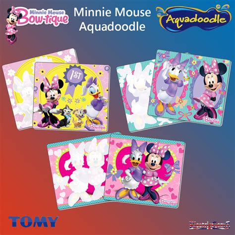 aquadoodle mini minnie mouse bow tique aquadoodle mini mats