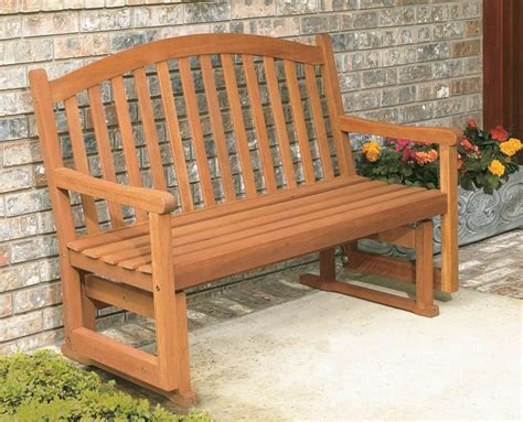 how to build a glider bench outdoor furniture rocker outdoor glider bench plans