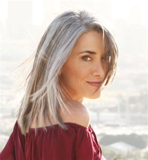 grey hairstyles 50 gray hair over 50