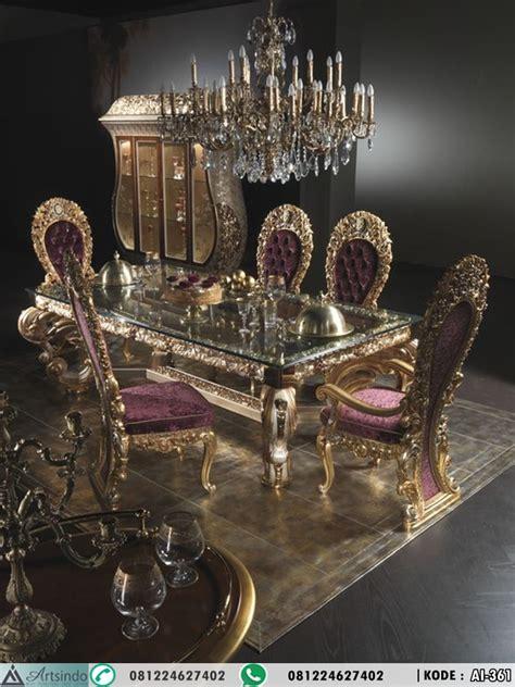 Makan Meja Di Golden Leaf set meja makan ukiran klasik eropa mewah gold arts indo furniture jepara arts indo furniture