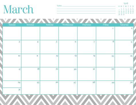 9 best images of cute printable 2015 planner free 9 best images of free chevron printable calendar march