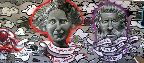 diako graffiti retratos sobre lienzo  pared pintura