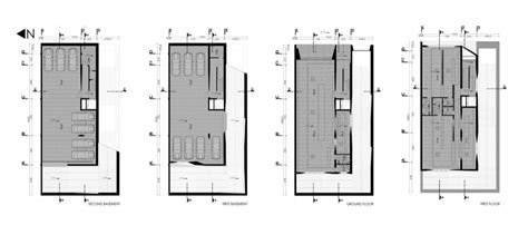 Architecture Plan gallery of commercial office building ryra studio 28