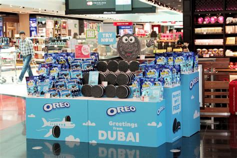 Play Store Oreo Oreo Shows Its Character In Engaging Dubai Duty Free Debut
