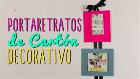 decorar mi cuarto con cartulina portaretratos creativos de cart 243 n ideas para decorar tu
