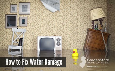 loan to fix house how to fix water damaged how to fix a water damaged