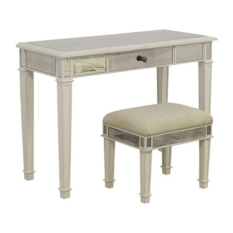White Vanity Table 74 Pier 1 Imports Pier 1 Imports Antique White Mirrored Vanity Table And Stool Tables