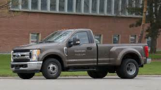 Ford Single Cab Dually 2017 Ford F 350 Xlt Single Cab Dually Spied In Michigan
