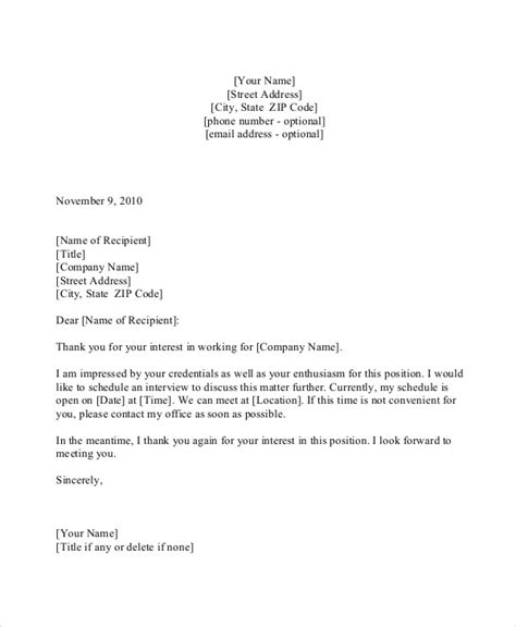 appointment letter thank you 44 appointment letter template exles free premium