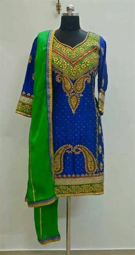 embroidery punjabi suits pinterest beautiful heavy embroidery punjabi salwar suit punjabi