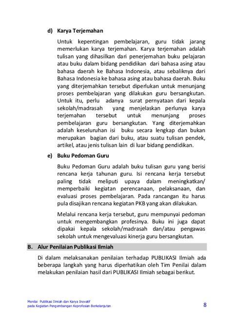 format surat pernyataan melakukan kegiatan pengembangan keprofesian berkelanjutan buku 5 pedoman penilaian kegiatan pkb