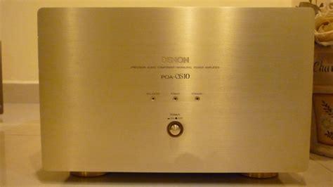 Power Ads A 5501d Monoblock denon poa s10 monoblock power lifier used cmsoon