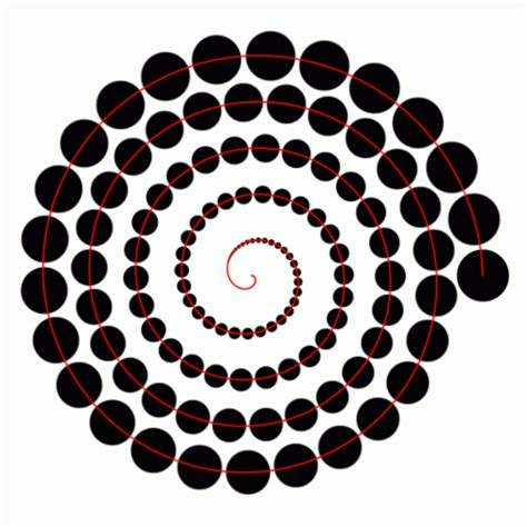 spiral pattern illustrator spiral increasing size adobe illustrator