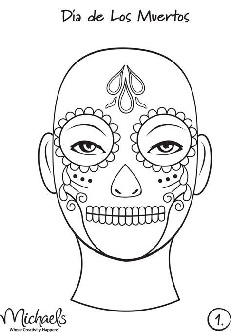 dia de los muertos skull template pin by stores on skulls dia de los muertos