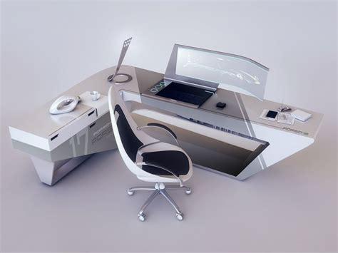 modern desk design by encho enchev sci fi 3d modern desk design by encho enchev sci fi 3d