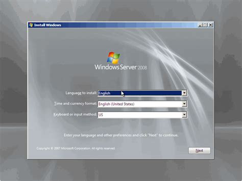 installing xp on windows server 2008 r2 how to install windows server 2008 step by step petri