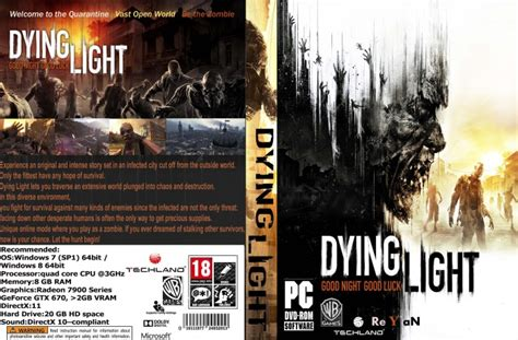 Dying Covers by Dying Light Pc Box Cover By Reyanking