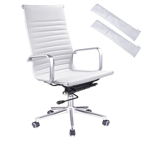 office chair for high desk ergonomic high back pu leather office chair computer desk