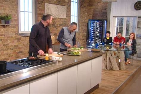 saturday kitchen viewers outraged after chef prepares food