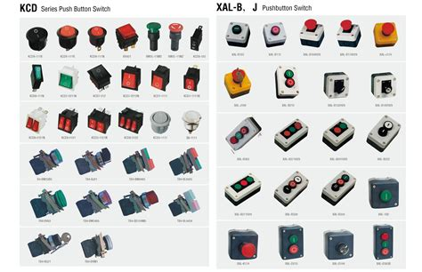 Push Button Hoist 2 Tombol komponen panel listrik hw elektrindo