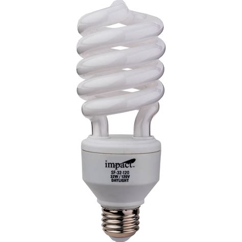 How To Dispose Of Fluorescent Light Bulbs by Impact Spiral Fluorescent Lamp 32w 120v Sf 32 120 B Amp H Photo
