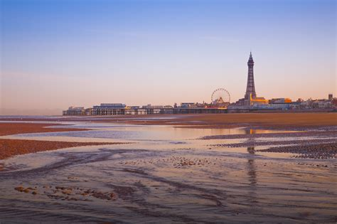 Photo: Stunning Picture of the Seaside Resort of Blackpool