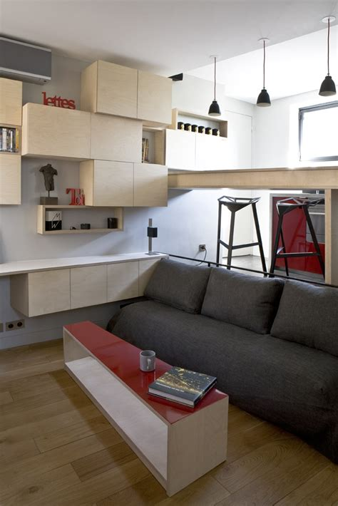 tiny room design modern small room design 16m 178 apartment in paris by marc baillargeon julie nabucet
